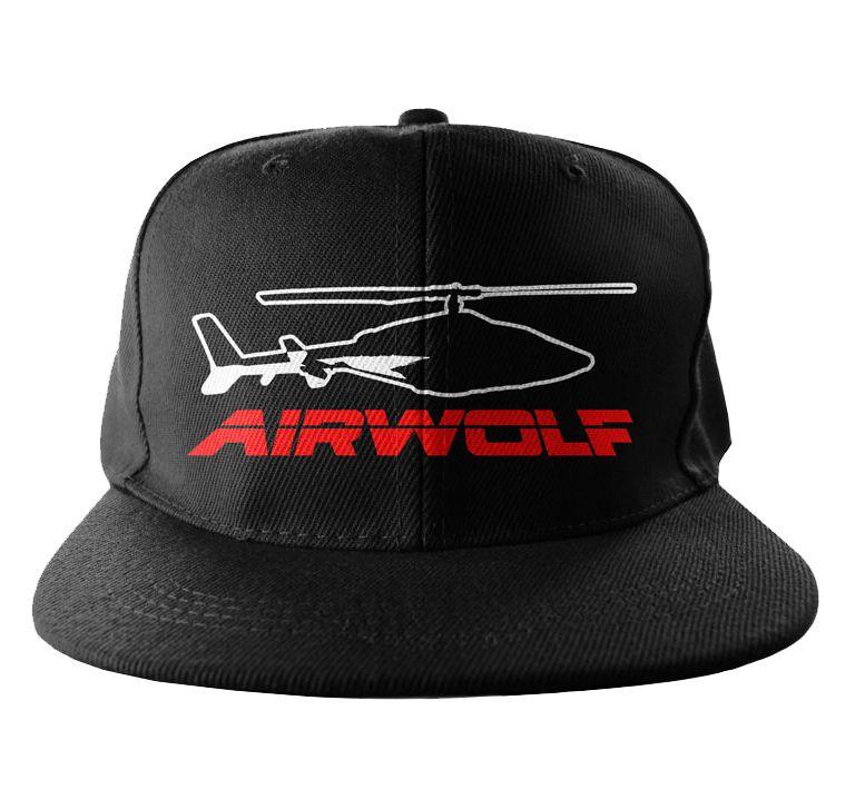 Airwolf originální bekovka Embroided kšiltovka Signal Logo