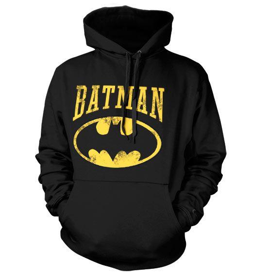 Batman hoodie mikina s kapucí a potiskem Vintage Batman