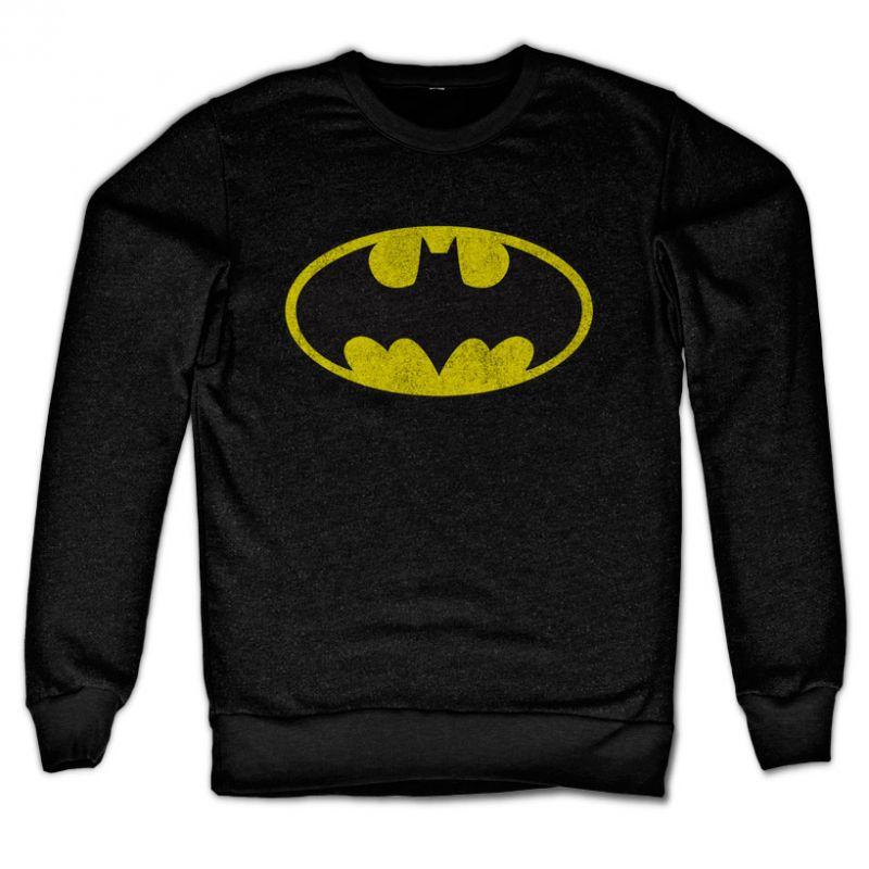 Batman originální mikina s potiskem Distressed Logo