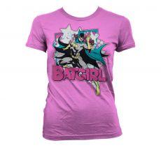 Dámské tričko s potiskem Batman Batgirl
