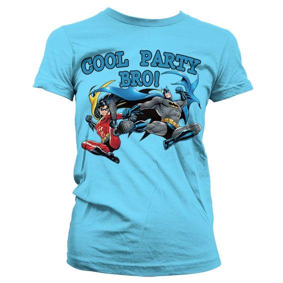 Batman stylové dámské tričko s potiskem Cool Party Bro!