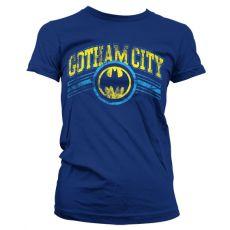 Dámské tričko s potiskem Batman Gotham City