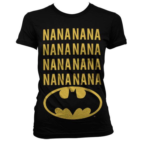 Batman stylové dámské tričko s potiskem NaNa