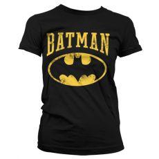 Dámské tričko s potiskem Batman Vintage