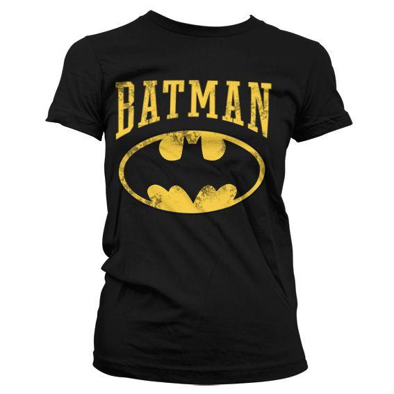 Batman stylové dámské tričko s potiskem Vintage