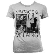 Dámské tričko Batman Vintage Villains Girly