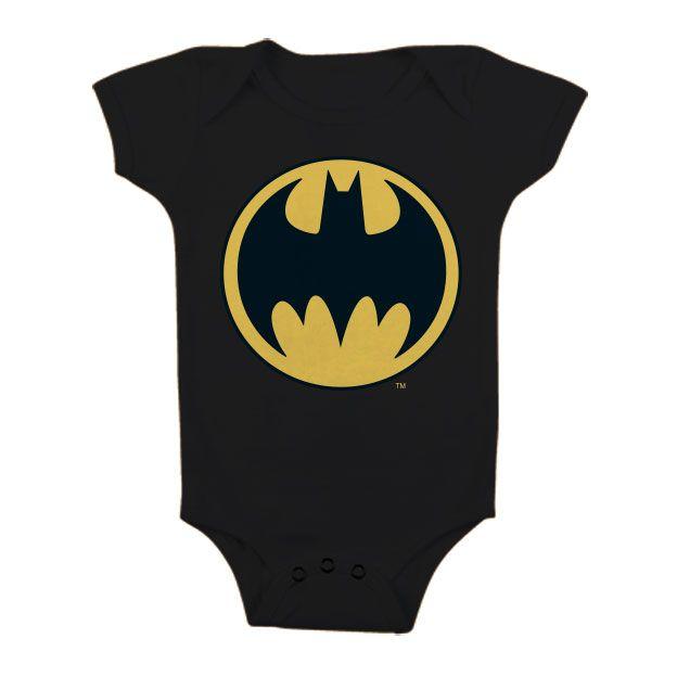 Batman stylové dětské body Batman Signal Logo Licenced