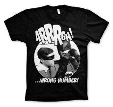 Panské tričko s potiskem Batman Arrrgh