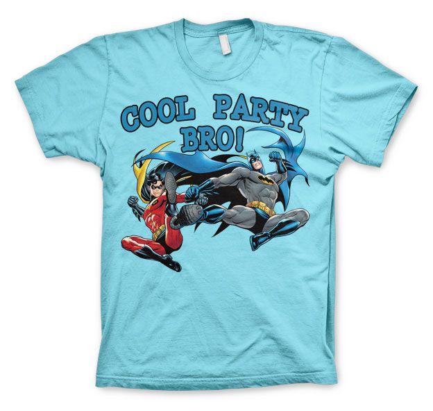 Batman stylové pánské tričko s potiskem Cool Party Bro!