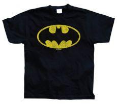 Panské tričko Batman Distressed Logo