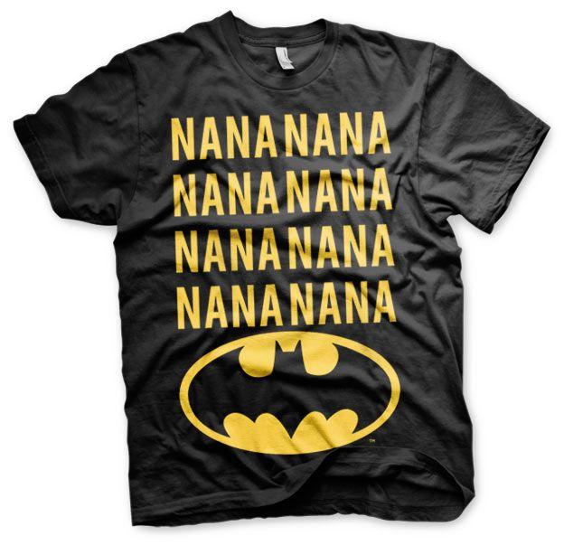 Batman stylové pánské tričko s potiskem NaNa