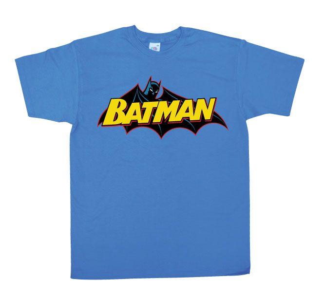 Batman stylové pánské tričko s potiskem Retro Logo