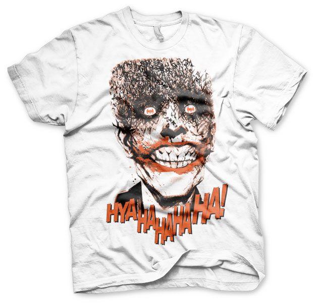 Batman stylové pánské tričko s potiskem The Joker - HyaHaHaHa