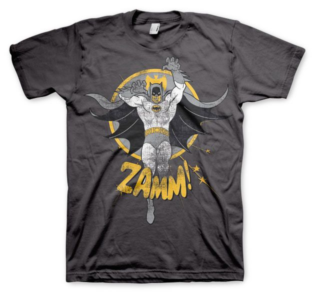 Batman stylové pánské tričko s potiskem Zamm!