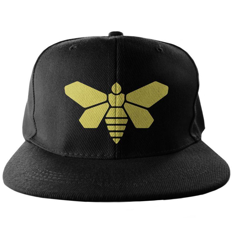 Bekovka Breaking Bad , originální kšiltovka Perníkový táta Methlamine Barrel Bee