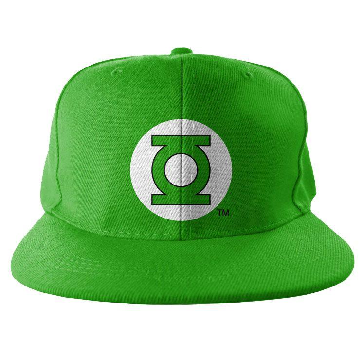 Bekovka , originální kšiltovka Green Lantern Logo