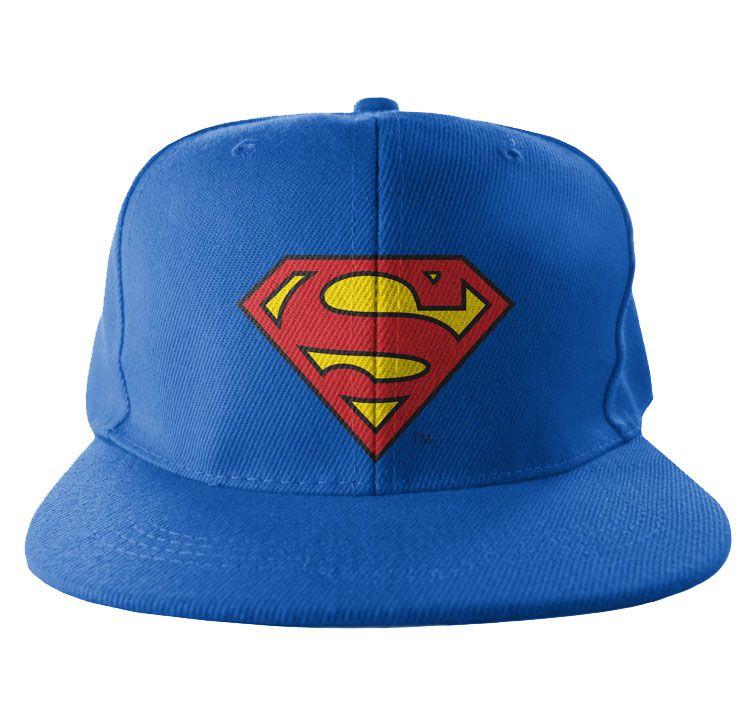 Bekovka Superman, originální kšiltovka Embroidered Shield