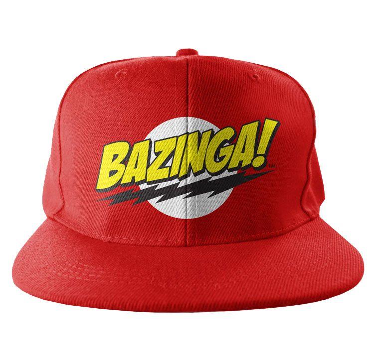 Bekovka The Big Bang Theory , originální kšiltovka Bazinga Super Logo