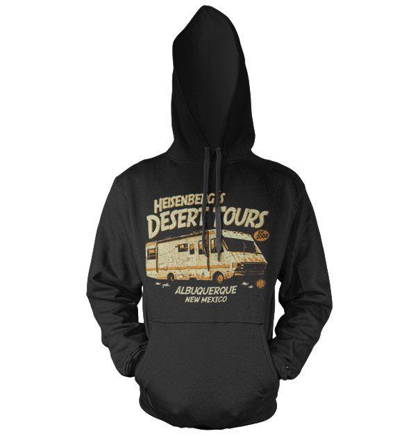 Breaking Bad hoodie mikina s kapucí a potiskem Heisenberg's Desert Tours