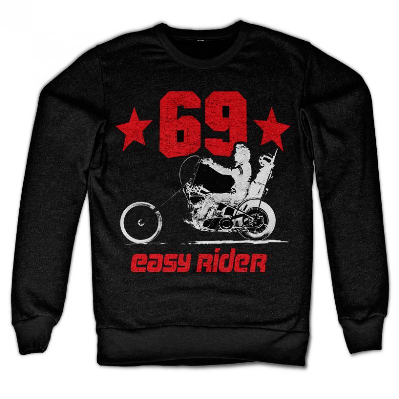 Easy Rider mikina s potiskem Easy Rider 69 , klasický střih