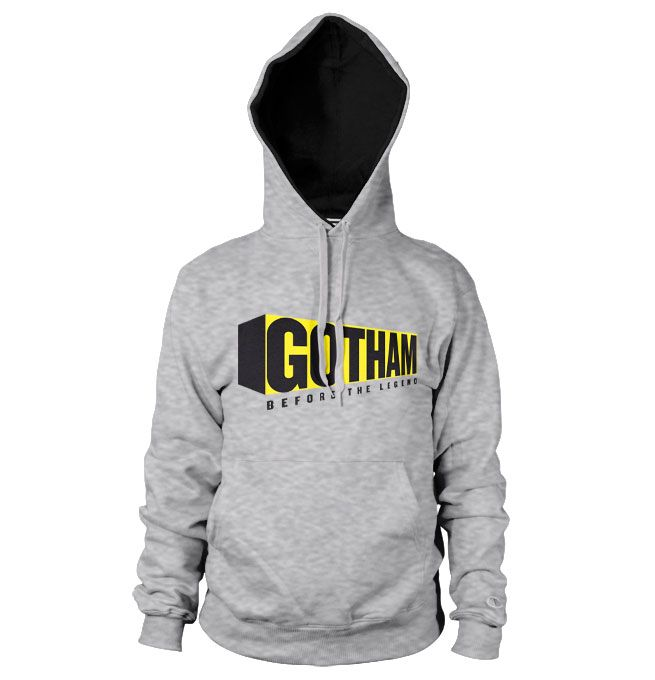 Gotham hoodie mikina s kapucí a potiskem Before The Legend