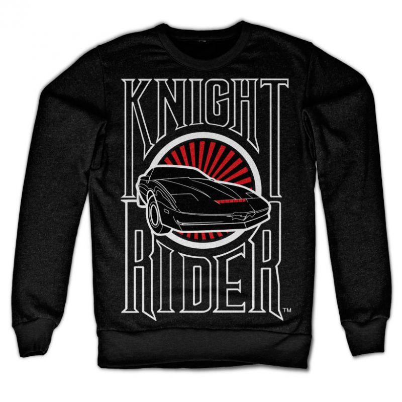 Knight Rider stylová mikina s potiskem Sunset K.I.T.T.