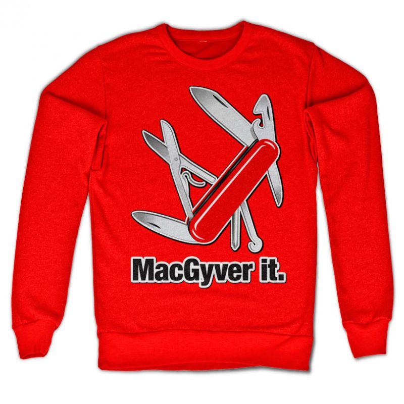 MacGyver stylová mikina s potiskem MacGyver It