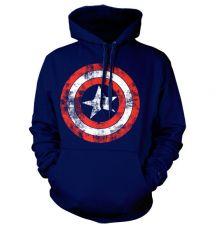 Marvel mikina s kapucí Kapitán Amerika