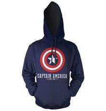 Captain America Marvel mikina s kapucí