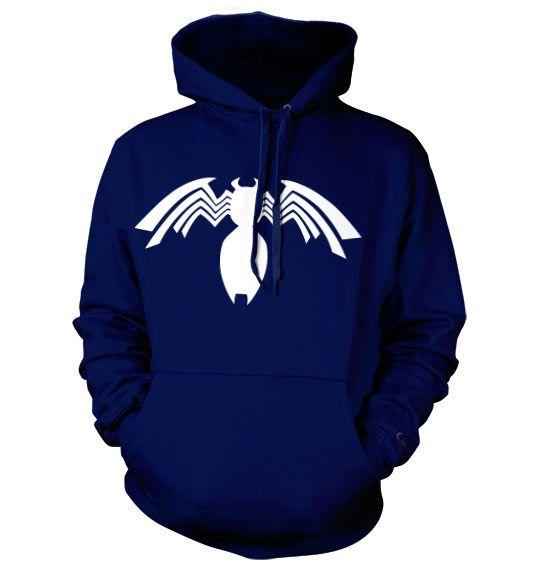 Marvel Comics hoodie mikina s kapucí a potiskem Venom Icon