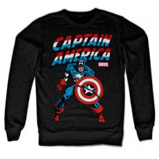 Marvel mikina s potiskem Kapitán Amerika