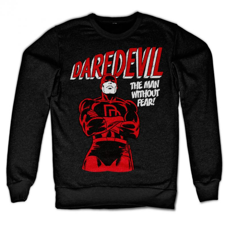 Marvel Comics stylová mikina s potiskem Daredevil