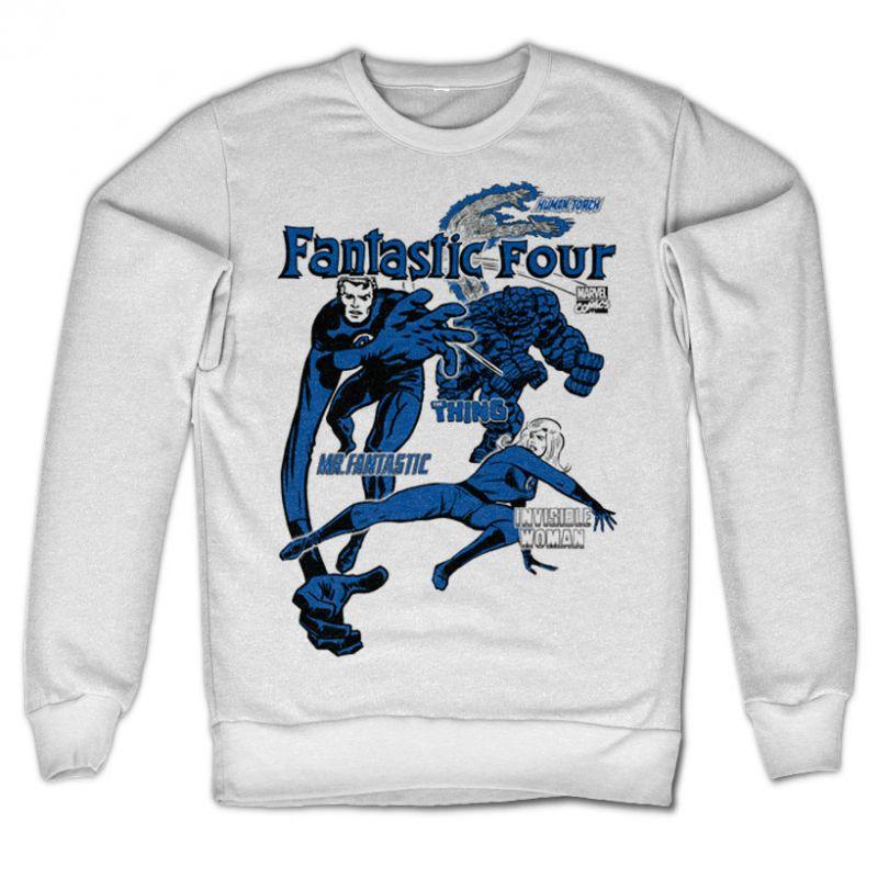 Marvel Comics stylová mikina s potiskem Fantastic Four