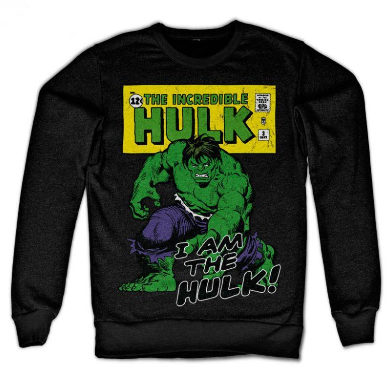 Marvel Comics stylová mikina s potiskem I Am The Hulk