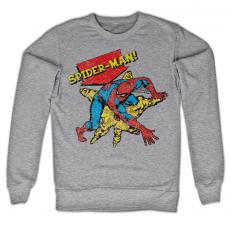 Mikina Marvel s potiskem Retro Spider-Man