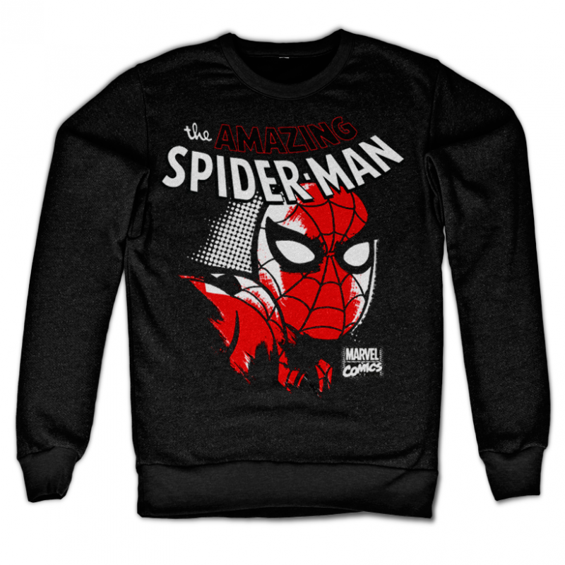 e69a425712 Marvel Comics stylová mikina s potiskem Spider-Man Close Up