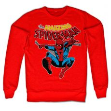 Mikina Marvel s potiskem The Amazing Spiderman