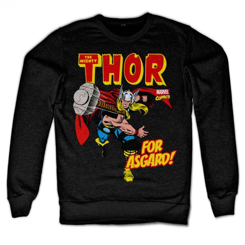 Marvel Comics stylová mikina s potiskem The Mighty Thor For Asgard!