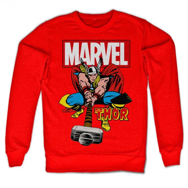 Marvel Comics stylová mikina s potiskem The Mighty Thor