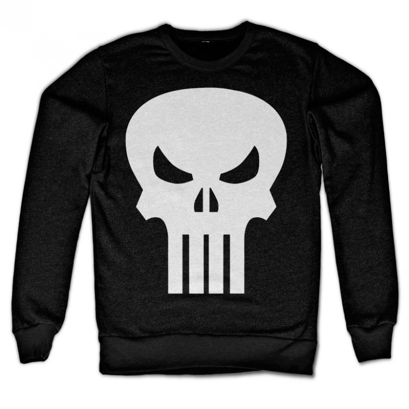 Marvel Comics stylová mikina s potiskem The Punisher Skull