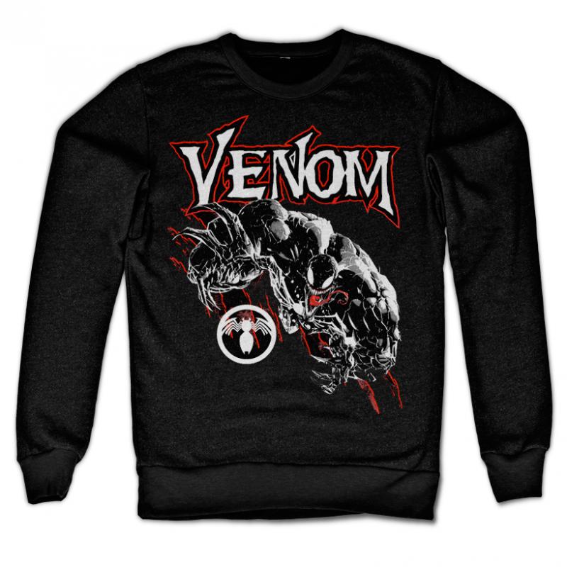 Marvel Comics stylová mikina s potiskem Venom