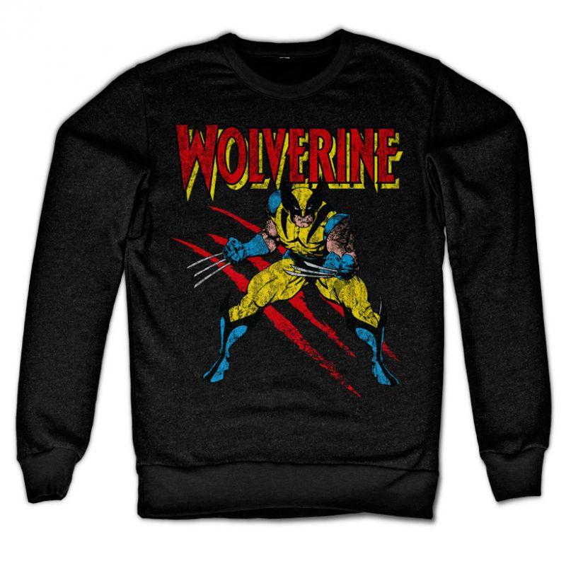 Marvel Comics stylová mikina s potiskem Wolverine Scratches