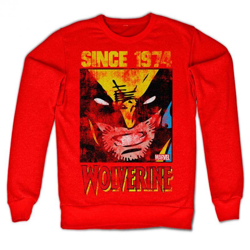 Marvel Comics stylová mikina s potiskem Wolverine Since 1974