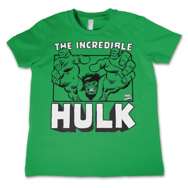 Marvel dětské tričko s potiskem The Incredible Hulk