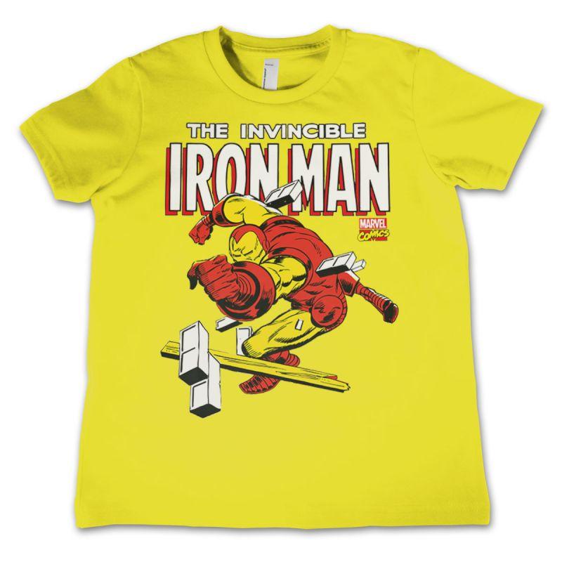Marvel dětské tričko s potiskem The Invincible Iron Man