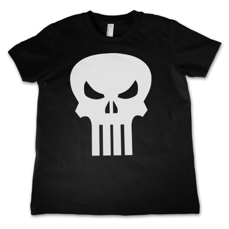 Marvel dětské tričko s potiskem The Punisher Skull
