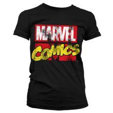 Stylové dámské tričko Comics Retro Logo