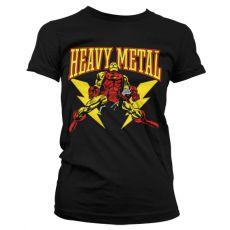 Stylové dámské tričko Iron Man Likes Heavy Metal