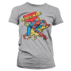 Stylové dámské triko Retro Spider-Man