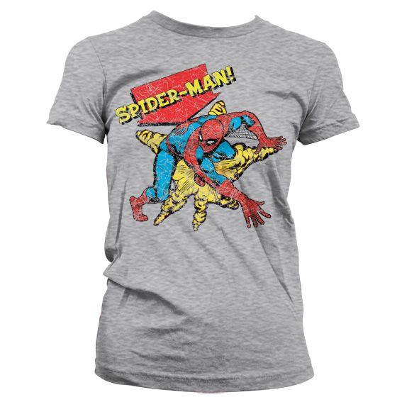 Marvel módní dámské tričko s potiskem Retro Spider-Man